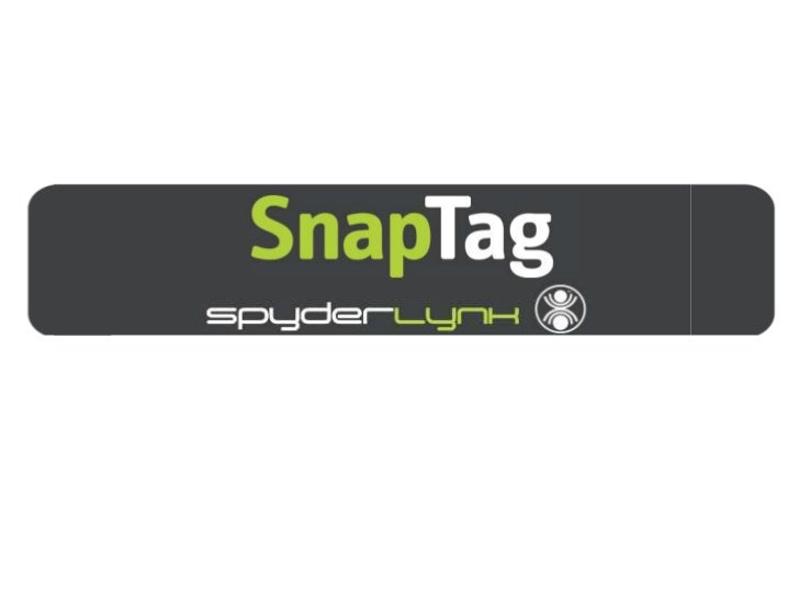 SnapTags        The Barcode Invented for MarketersSnapTags are:• Branded – Built around your brand• More Accessible – Can ...