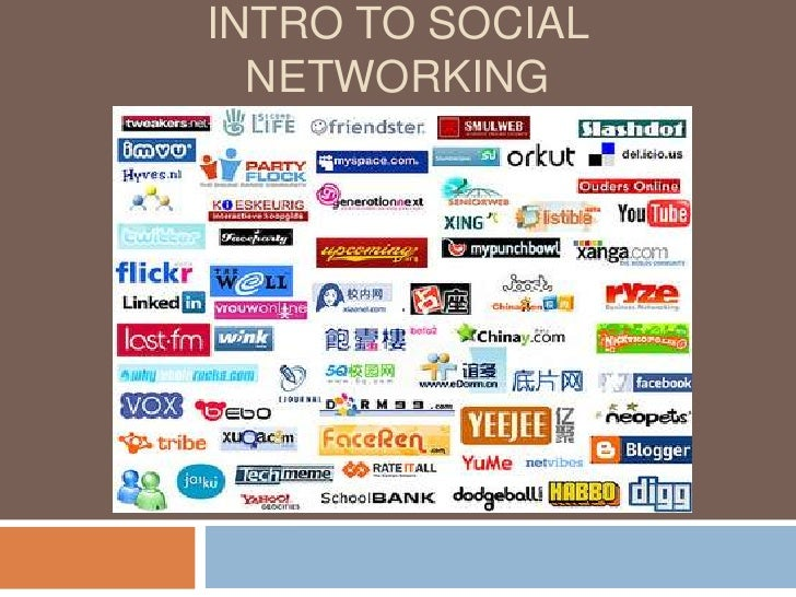 Intro to Social Networking<br />