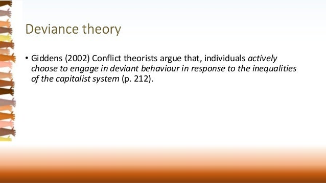 an introduction to conflict theory and functionalism These include conflict, functionalism, symbolic interactionism, and social  exchange theories second, middle-range theories are theories derived from.