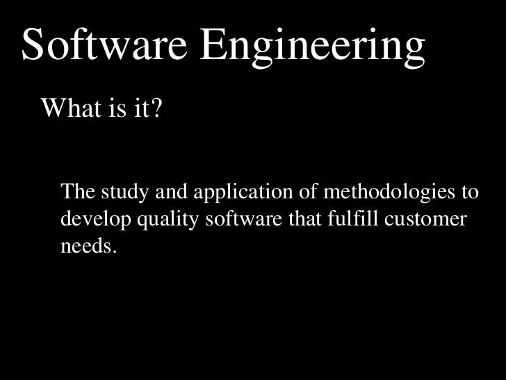 Ppt software engineering – introduction powerpoint presentation.
