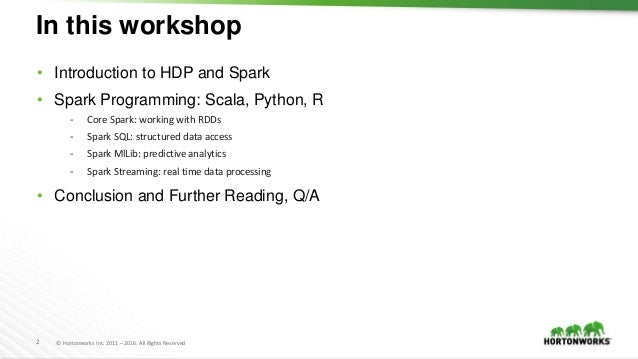 Intro to Big Data Analytics using Apache Spark and Apache Zeppelin