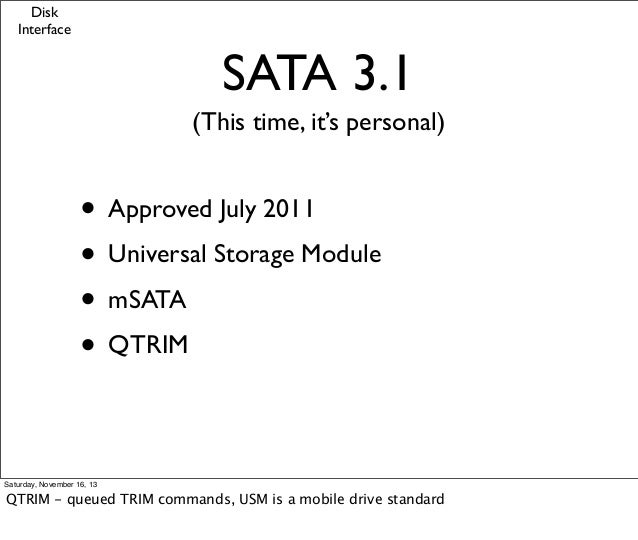 Introduction to Solid State Drives