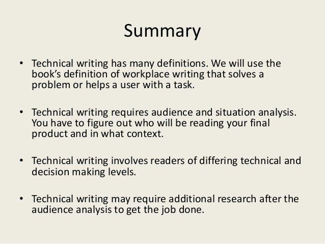 What are the functions of technical writing?
