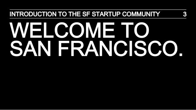 SF Startup Ecosystem Slide 3