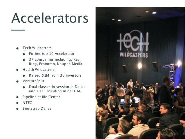 The Dec Education Intro To The Dallas Startup Community
