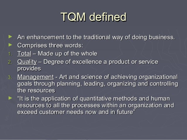 Total Quality Management Ebook By Besterfield