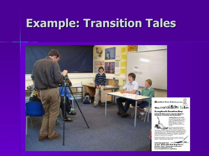 Example: Transition Tales