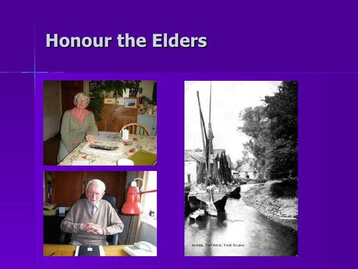 Honour the Elders