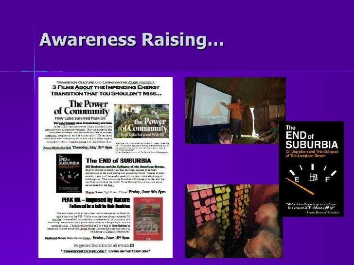Awareness Raising…