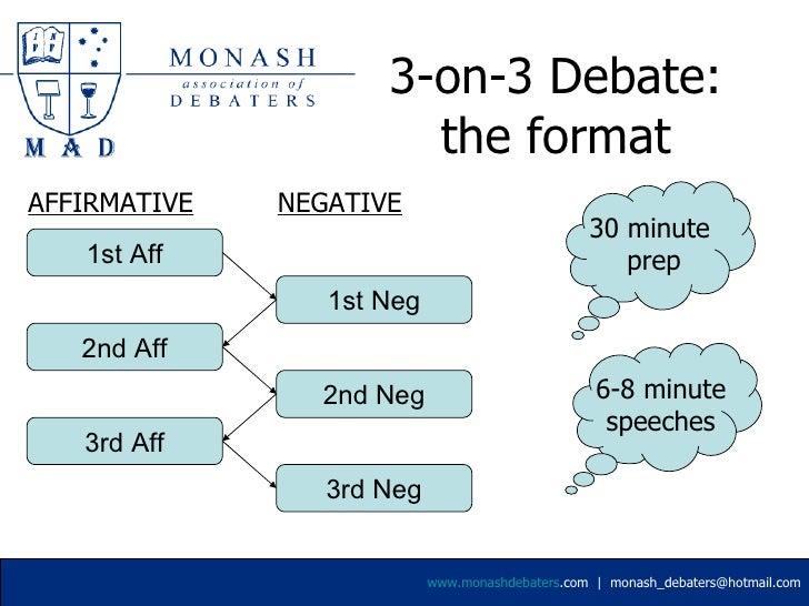 Intro To University Debating. Debate Speech Template   Solomei com