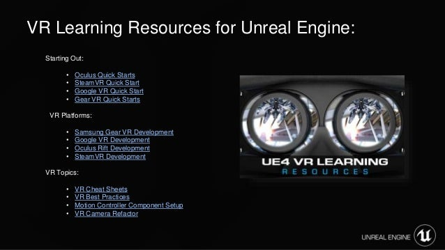 Intro to VR with Unreal Engine