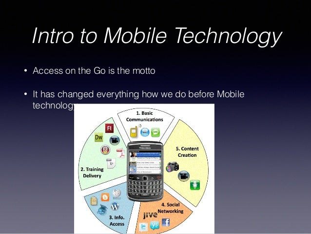 Mobile Technology: Introduction To Web & Mobile Technology