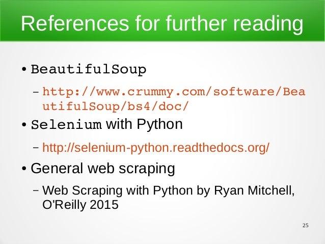 Web Scraping Python Ppt