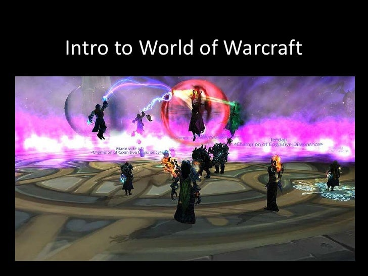 Intro to World of Warcraft