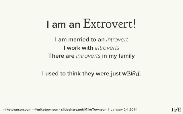 introvert extrovert research papers Find and download essays and research papers on introvert.