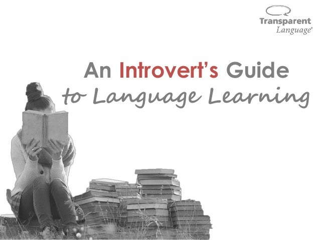 An Introvert's Guide to Language Learning