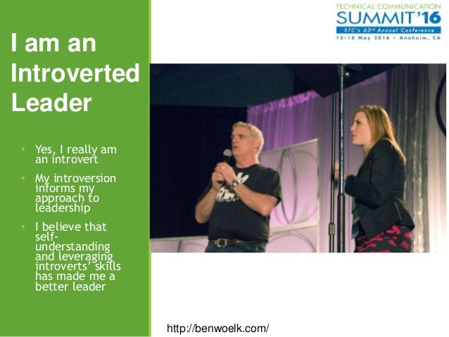 An Introvert's Journey to Leadership Slide 3