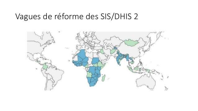 Vagues de réforme des SIS/DHIS 2