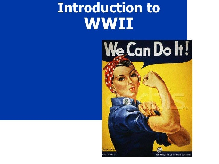Introduction to WWII<br />
