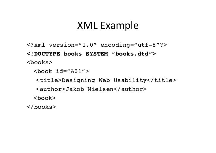 Introduction To Xml Xhtml And Css