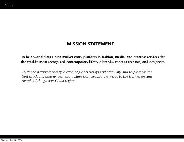 Global operations plan world fashion china essay