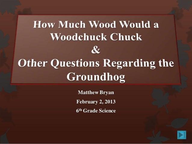 Matthew BryanFebruary 2, 20136th Grade Science