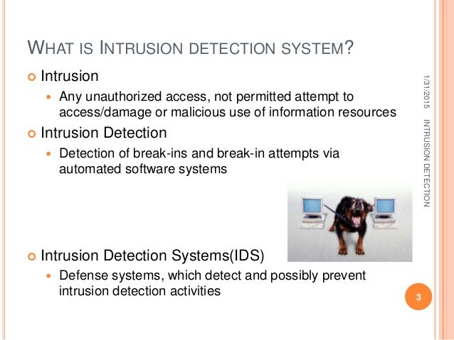 the advantages of intrusion detection system A network-based intrusion detection system (nids) is used to monitor and analyze network traffic to protect a system from network-based threats.