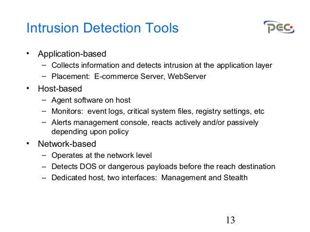 Intrusion Detection 2001