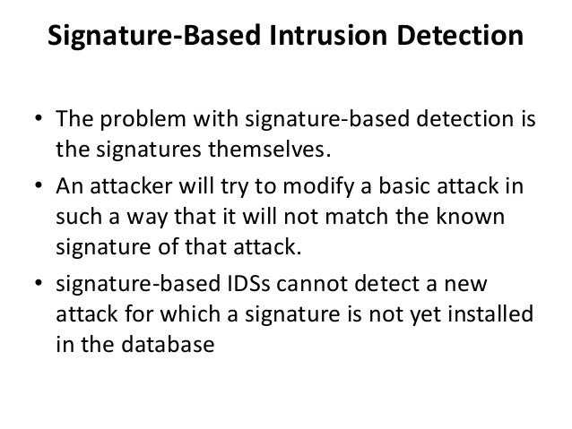 thesis network intrusion detection system Intrusion detection in mobile ad intrusion detection systems network packets, etc in the detection component data is ana.
