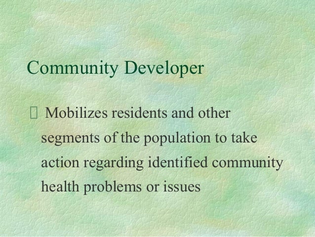 The History of Community Health and Community Health Nursing