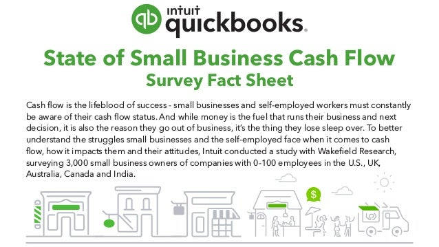 State of Small Business Cash Flow Survey Fact Sheet Cash flow is the lifeblood of success - small businesses and self-empl...