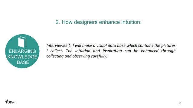 HOW INTUITION AFFECTS DESIGNERS' DECISION MAKING