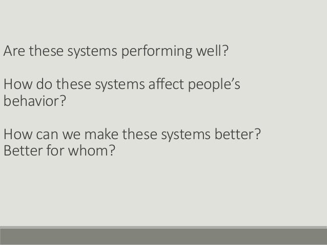 Measuring effectiveness of machine learning systems Slide 3