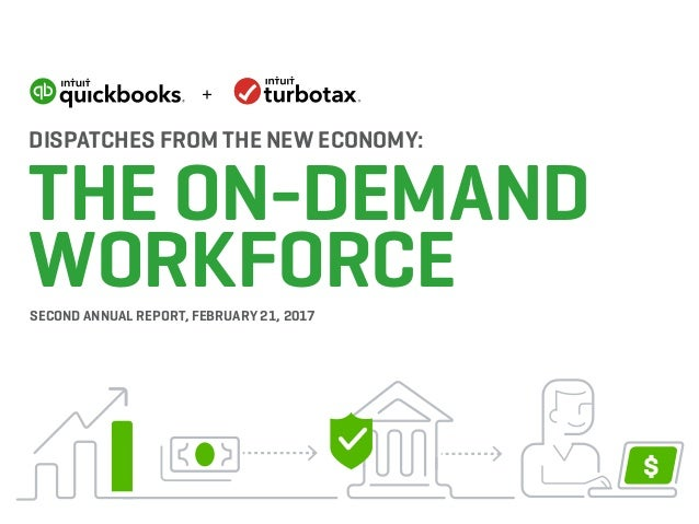 DISPATCHES FROM THE NEW ECONOMY: THE ON-DEMAND WORKFORCESECOND ANNUAL REPORT, FEBRUARY 21, 2017 $ +