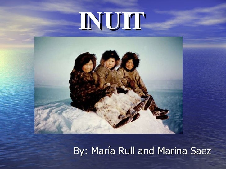 INUIT By: María Rull and Marina Saez