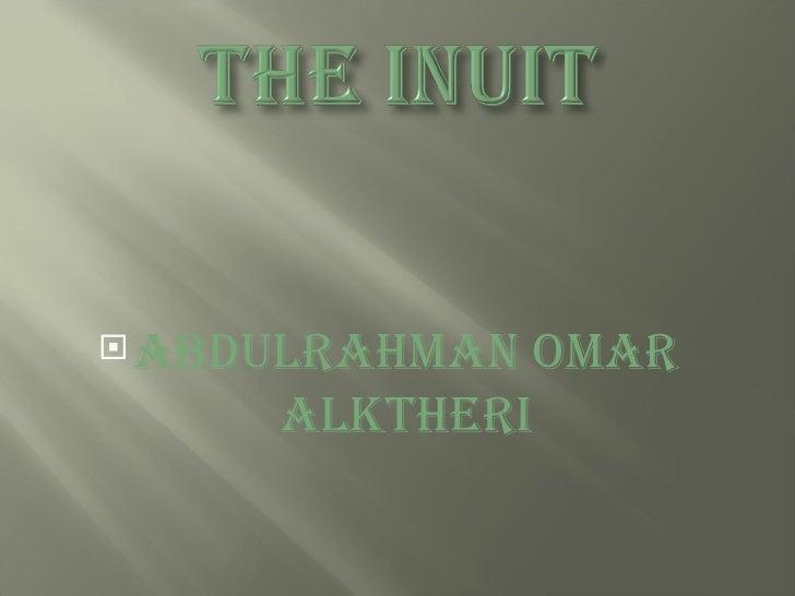 <ul><li>Abdulrahman Omar Alktheri </li></ul>