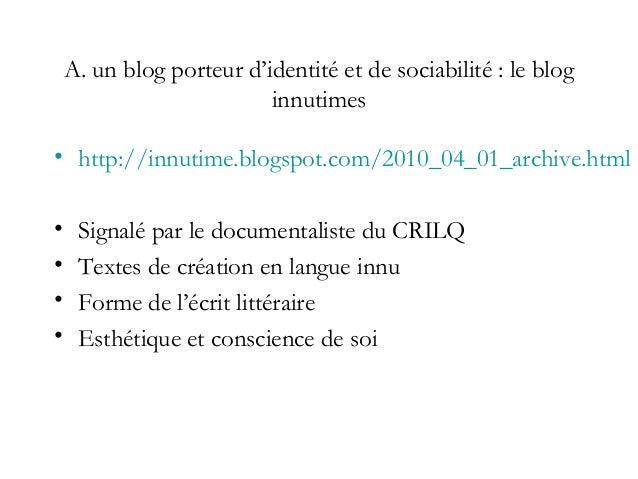 Blog «inutimes» -Des thèmes analogues à ceux repérés par Maurizio Gatti dans Etre ecrivain améridien au Québec – dérélic...