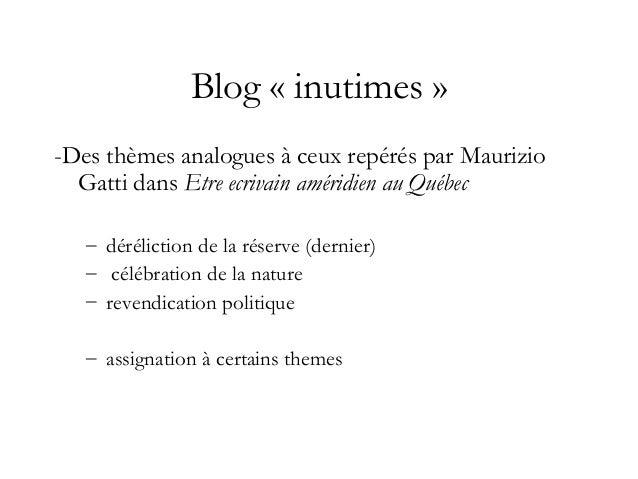 Blog «innutimes» : porteur d'identité sociale Rubrique «Qui êtes-vous ?» - Ma photo