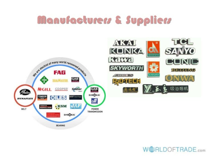 Manufacturers & Suppliers