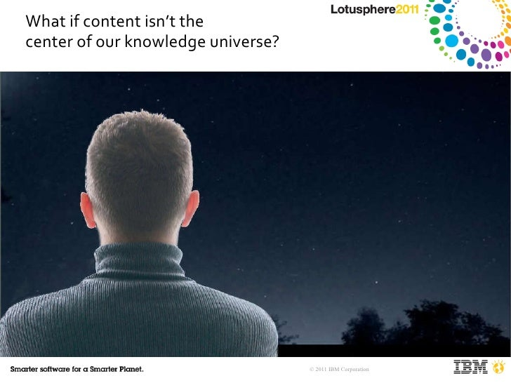 What if content isn't the  center of our knowledge universe?