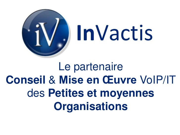 InVactis   slideshare Slide 3
