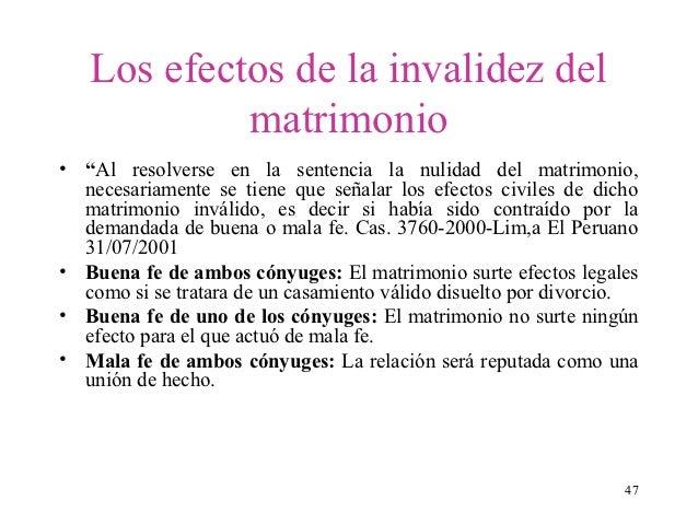 El Matrimonio Catolico Tiene Efectos Civiles : Invalidez del matrimonio cal