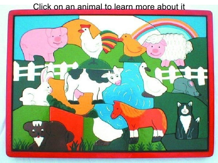 Click on an animal to learn more about it