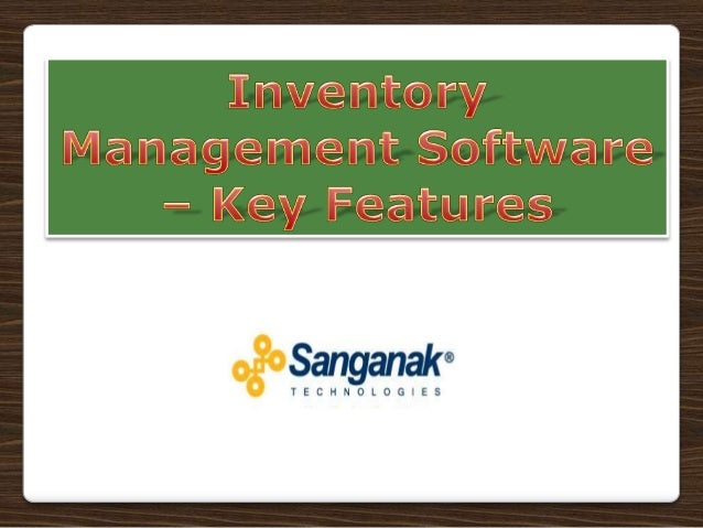 Inventory forms one of the biggest investments in manufacturing andtrading sectors. Huge capital blocked in inventory, ina...