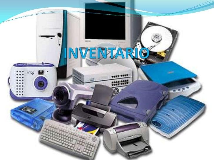 Resultado de imagen para inventario informatico