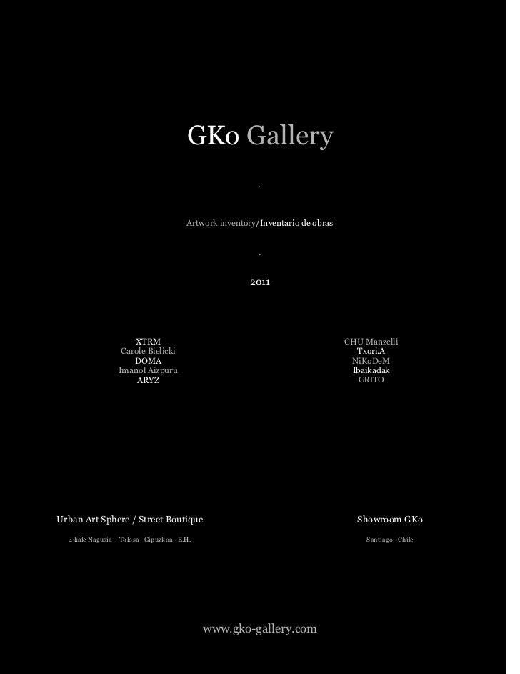 GKo Gallery                                                           .                                         Artwork in...