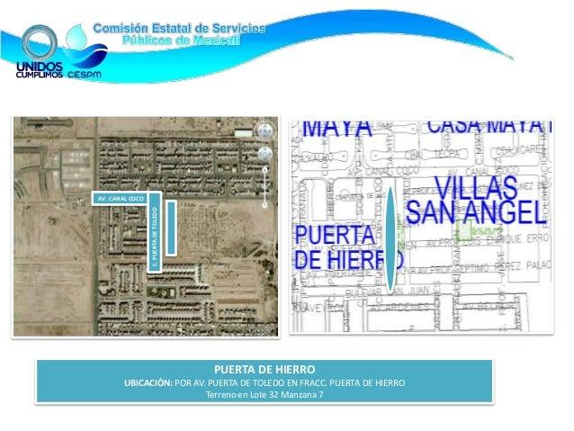 Inventario de terrenos cespm oct 2012 internet for Puerta 6 autodromo hermanos rodriguez ubicacion