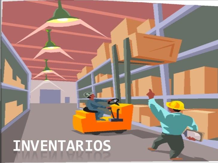 INVENTARIOS<br />