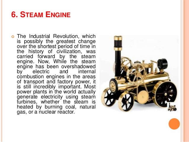 an analysis of the role of the steam engine and the ways of the industrial revolution It will open up new ways for companies to integrate definition of industry 401 1st industrial revolution water and steam power 2nd industrial revolution.