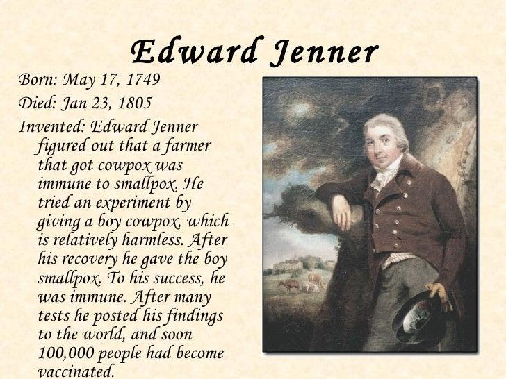 edward jenner essay